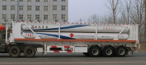 Φ711-6 Hydraulic Semi-trailer