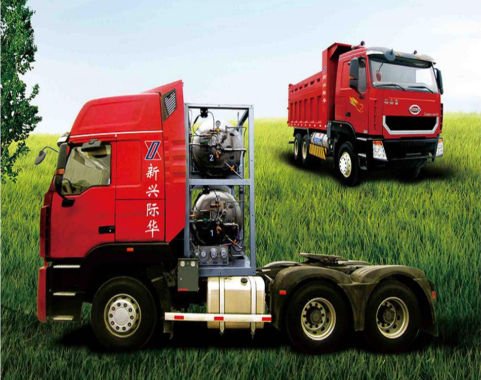 重卡(柴油-LNG)雙燃料